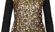 Złote i srebrne dodatki i ubrania