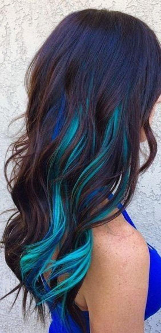 moda na kolorowe włosy różowe włosy srebrne włosy niebieskie włosy